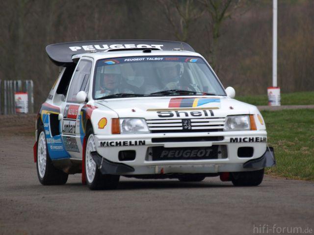 Peugeot 205 Turbo 16   Race Retro 2008 01