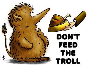 Don T Feed The Troll