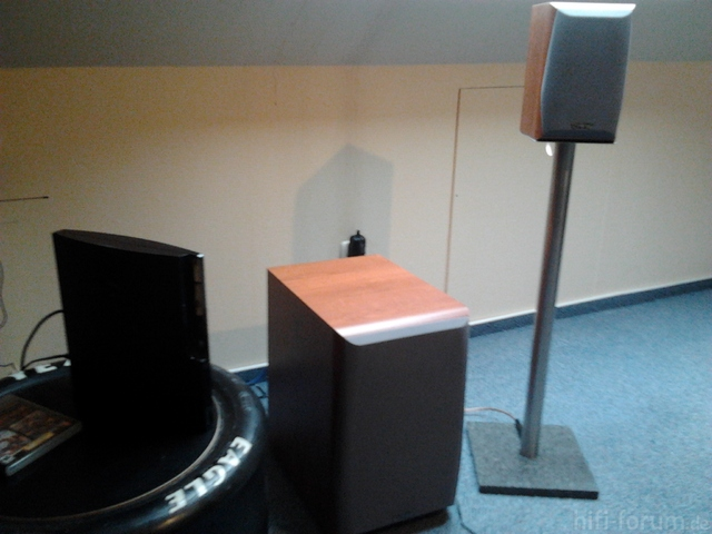 DIY Boxenständer (primus Hcs: Sub + Front)