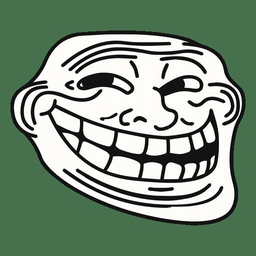 150164edc7f28a716bfceae9dd58cf2c Coolface Trollface Meme By Vexels
