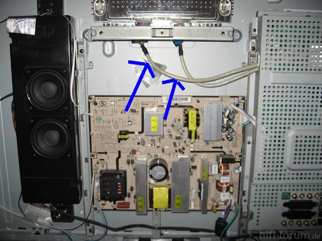 Samsung LE40F86BDX - Kabeldefekt