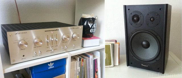 Marantz 1090 & Pioneer Prologue 8