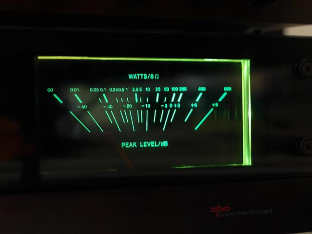 Proton d1200 VU-meter
