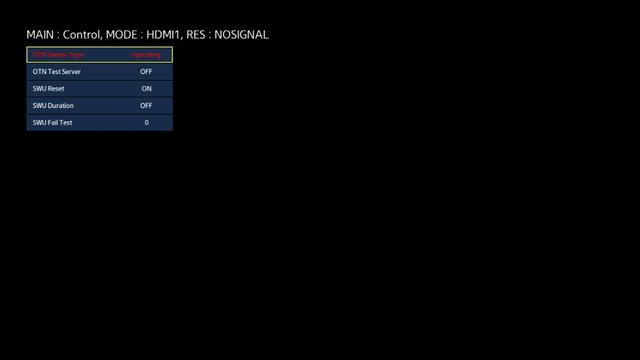 Conreol - Sup Option - OPTION_SWU