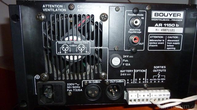 Hat Sogar 100 Volt Audio Ausgang Für Viele Ls