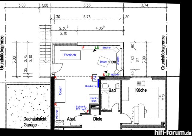 Wohnzimmer Mit Hifi