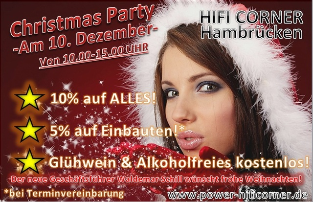 Christmas Party Hifi Corner Hambrücken
