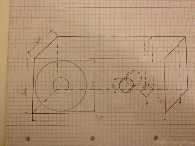 Bauplan Gehäuse
