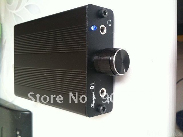 HiFi Q1 Chargeable JRC4556AD Portable Headphone Amplifier Amp 1800MAH Battery MINI AMP Hand Made Pro