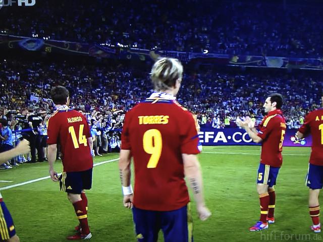 Fußball EM Spanien Vs. Italien Quelle ZDF HD