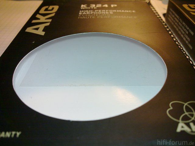 AKG K324P Original + Fälschung