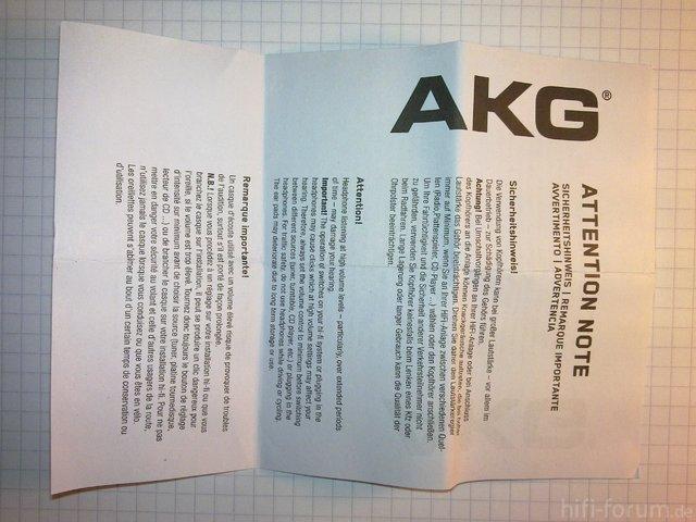 AKG K324P Original   Fälschung