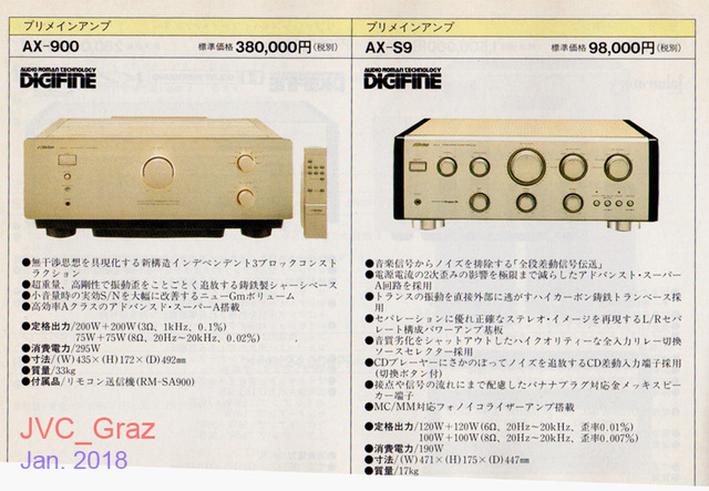 Victor AX900