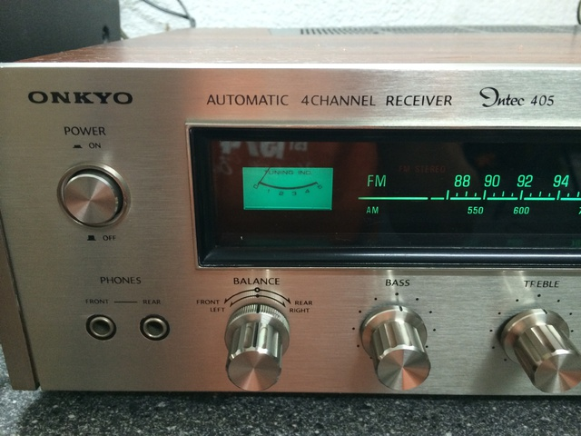 Onkyo Intec 405 4 Channel Receiver