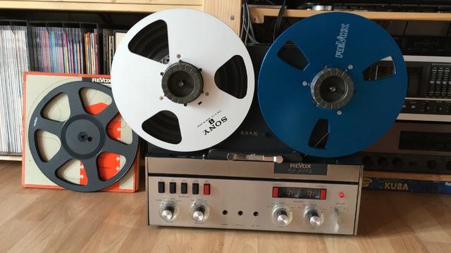 Revox Tonbandgeräte