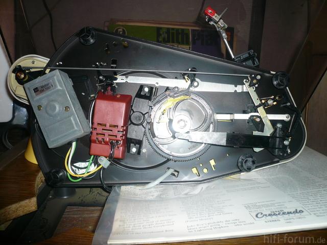 Dual ASP 130 Mechanik Unten