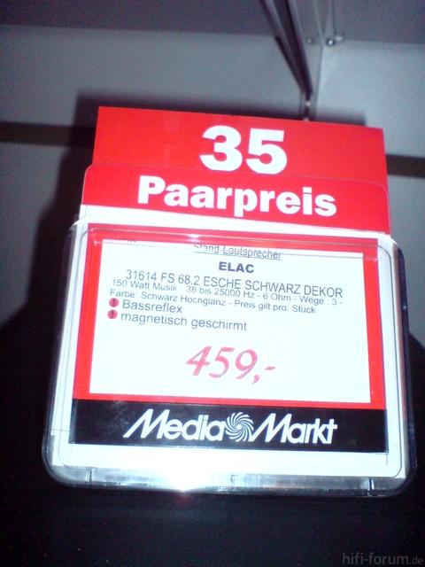 Elac FS 68.2 Angebot MediaMarkt Salzburg