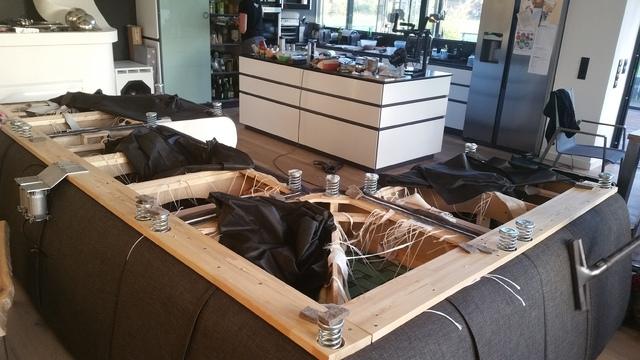 couch reparieren federn