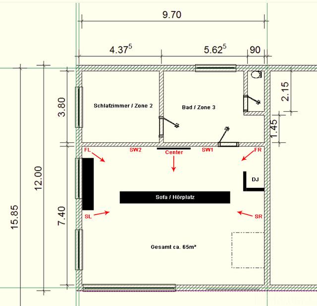 Selbstbau-Projekt: Aufstellung 5.2