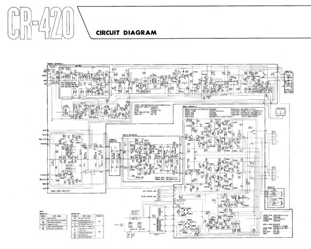 CR420 Schematic