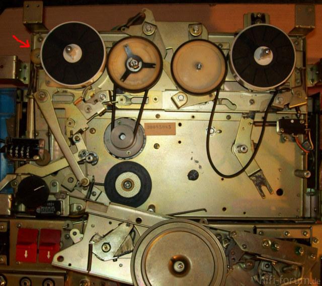 Sony Tc 366 Riemenlauf