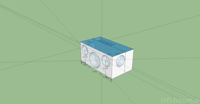 Muke Box 3D Planung
