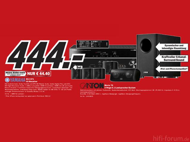 AV Receiver Und Lautsprecher Set 745x559 Ce6b7ce05299d6c3
