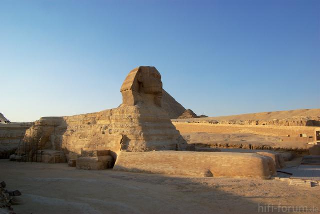 Gizeh Grosse Sphinx BW 1