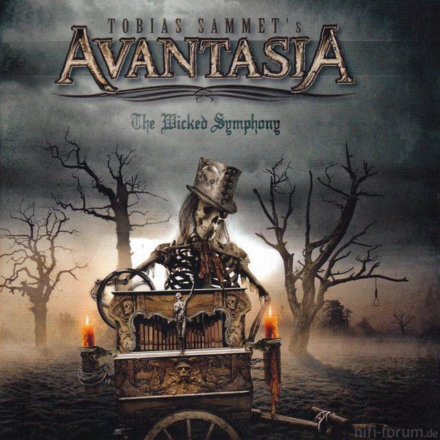 Avantasia   The Wicked Symphony, Front