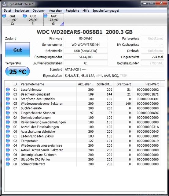 WD EARS 2TB