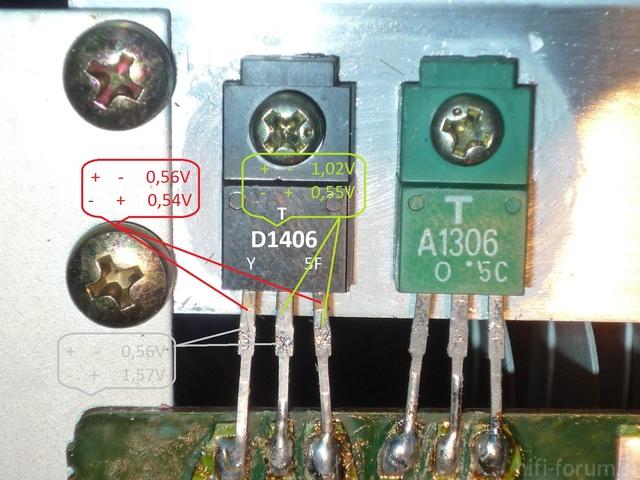 Fehlersuche Transistor Q914