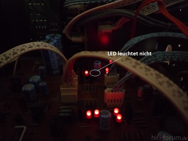 Luxman L410 LED 803a Aus