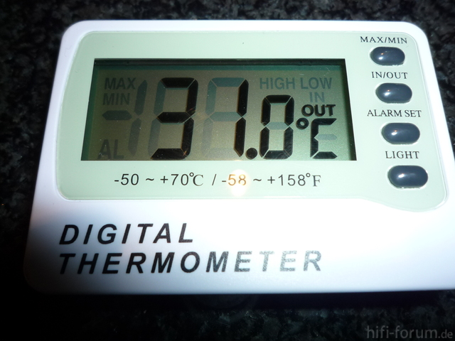 Thermperaturdisplay