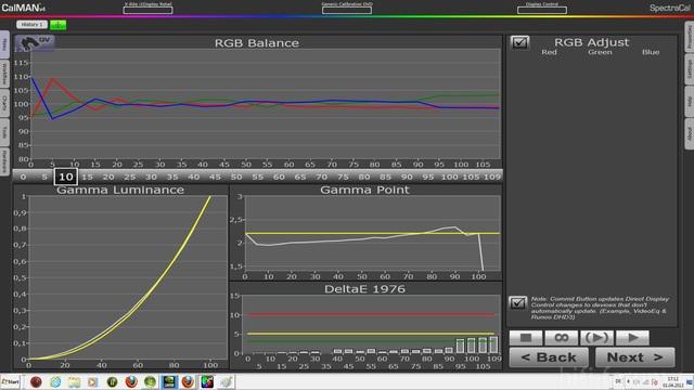 01 04 Kalibrierung2DVDnach RGB Einstellung