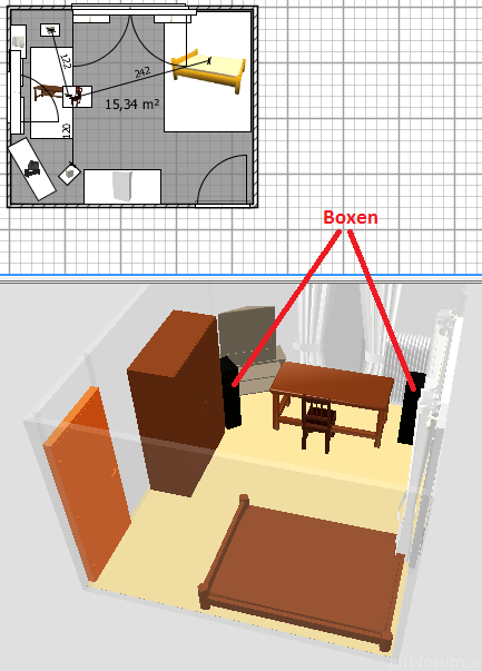 Zimmer-Plan