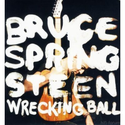 Cover Wrecking Ball Bruce Springsteen