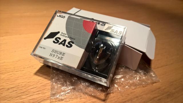 Jico SAS Nadel f�r Shure M97xE