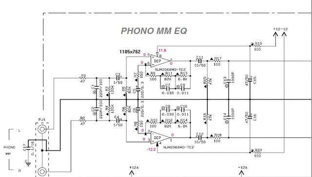 Phono Vorstufe Yamaha DSP Z9