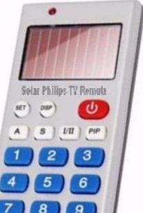 Solar Philips TV Remote
