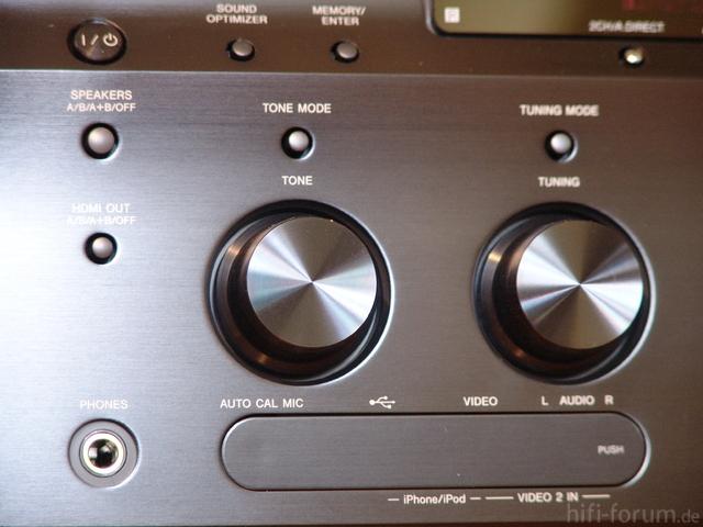 STR-DA5700ES - Detailbilder Drehregler ...