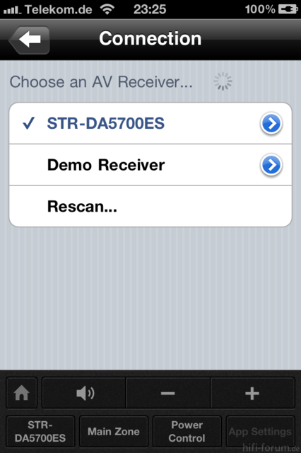 STR-DA5700ES IPhone-APP