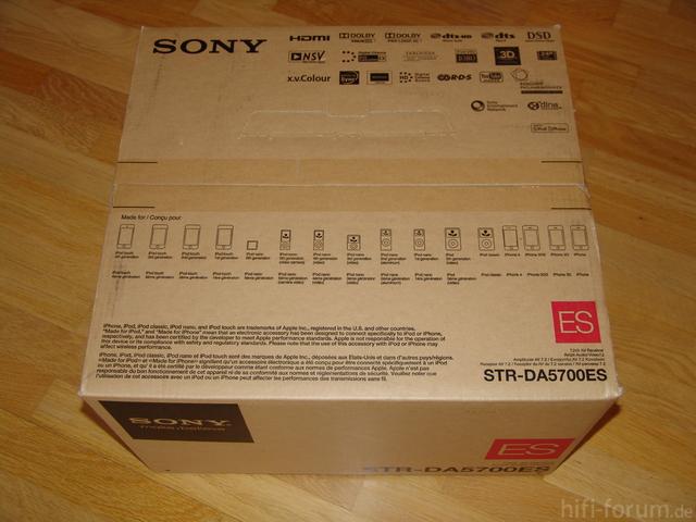 STR-DA5700ES Verpackung