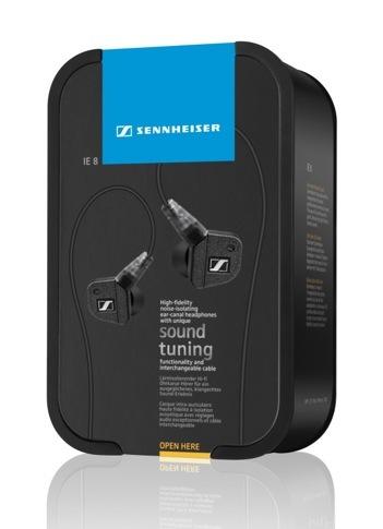 Sennheiser IE 8 Premium Audiophile Earbud Headphones