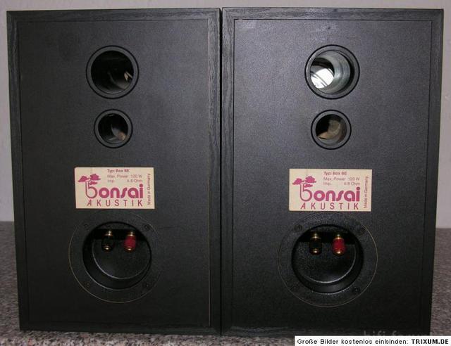 Bonsai SE Rückansicht