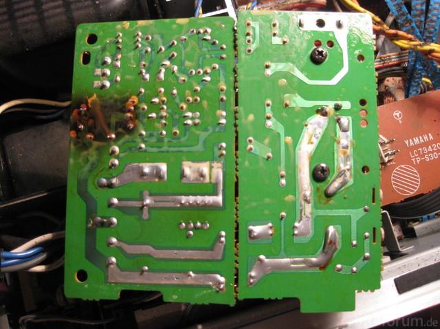 Yamaha A 760-II, Control Circuit Board, Unterseite