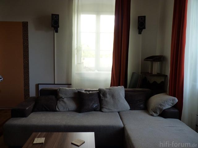 Back Mit Einem Teil Der Neuen Couch