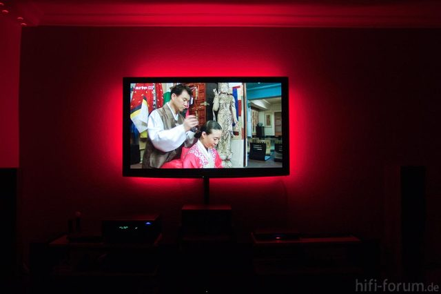 LED-Band Am Panasonic 65'' VT20
