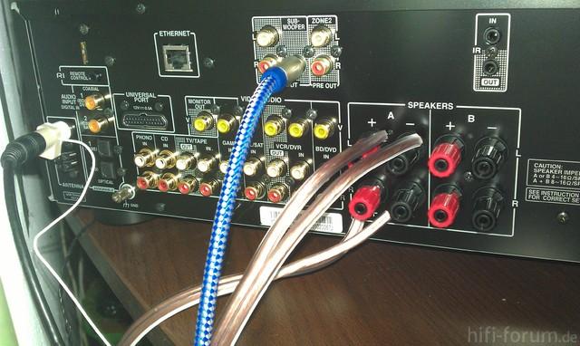 Verstärker Onkyo TX 8050