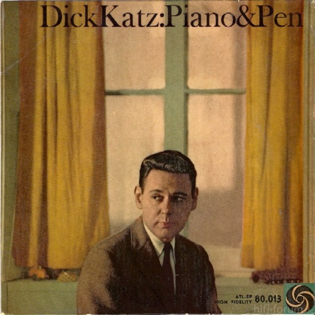 Dick Katz - Piano & Pen (1959)