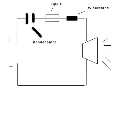 Skizze Reihenschaltung